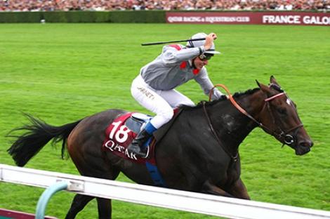 Treve wins the Gr.2 Prix Corrida