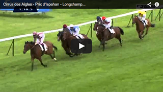 2nd in Prix d'Ispahan Gr.1